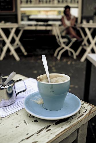 Kaffeepause bei ISO 160 f/2,8
