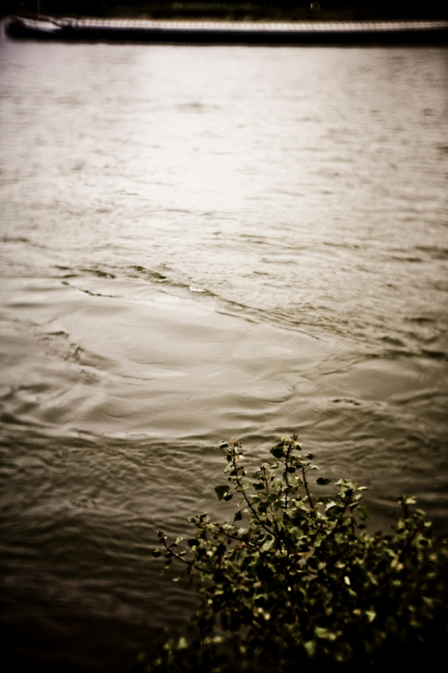 Weiches Wasser mit weicher Optik aufgenommen