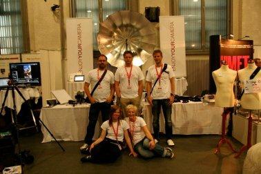 Dforum Festival 2011 - unser erster Messestand